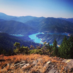 Applegate Lake from Stein Butte