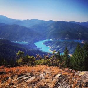 Applegate Lake from Stein Butte