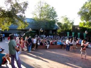 Ashland Oregon Shakespeare Green Show image