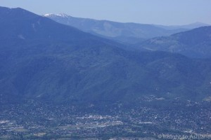 Ashland and Siskiyou Mountains