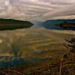 Columbia River Gorge and Clouds
