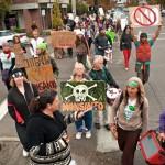GMO Free Marchers