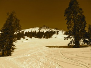 Mt. Ashland during Winter