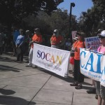 SOCAN Marching against Climate Change