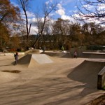 Skate Park in Ashland, Oregon