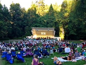 The Ashland City Band Performs in Lithia Park
