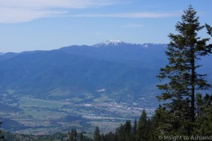 View of South Ashland and Mt. Ashland