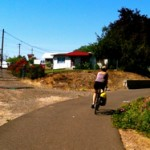 Biking on the Bear Creek Greenway